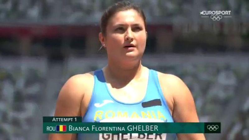 Jocurile Olimpice: Bianca Ghelber s-a calificat în finală la aruncarea ciocanului