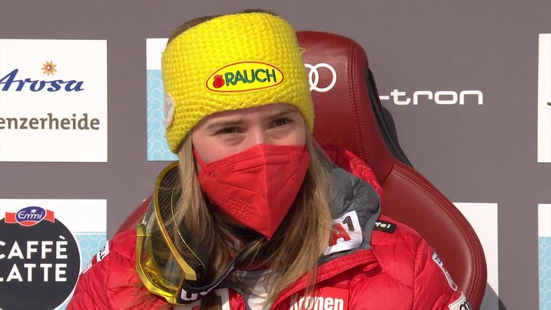 Schoner vergessen: Slalom-Queen Liensberger komplett durch den Wind
