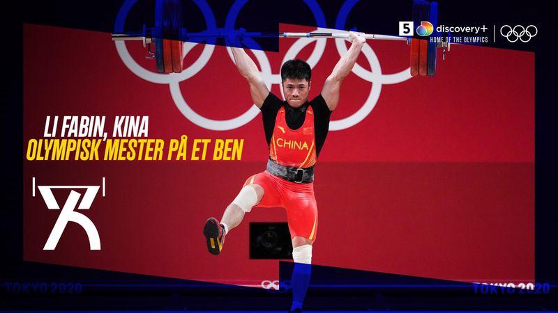 Gal eller genial? Kineser sætter olympisk rekord og vinder guld på ét ben