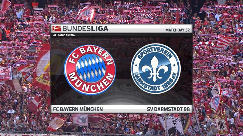 Høydepunkter: Bayern München - Darmstadt