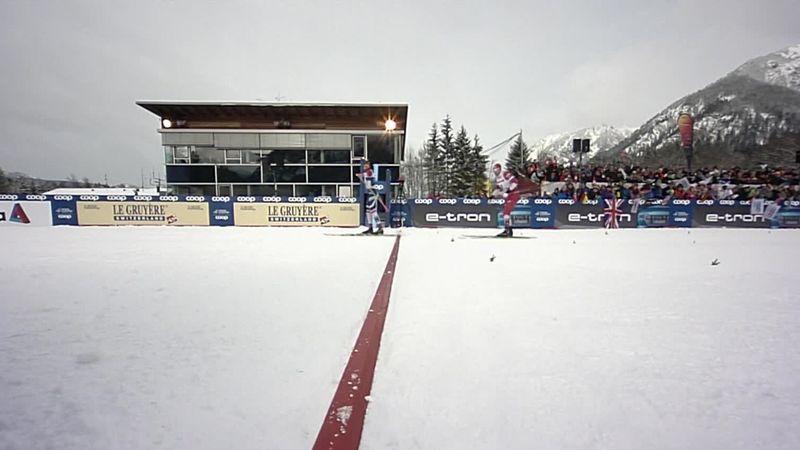Tour de Ski: Johannes Klaebo le gana la partida a Ustiugov en Oberstdorf
