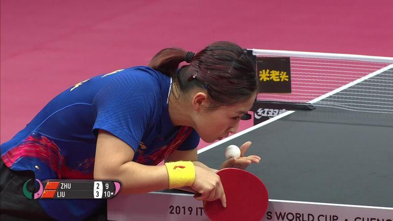 Mundiales de Tenis de Mesa 2019: Liu Shiwen se proclama campeona del mundo