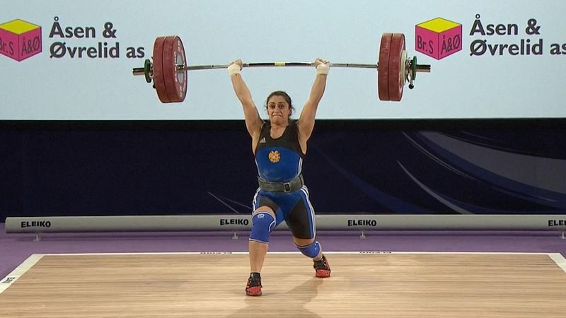 Three former dope cheats all on weighlifting podium