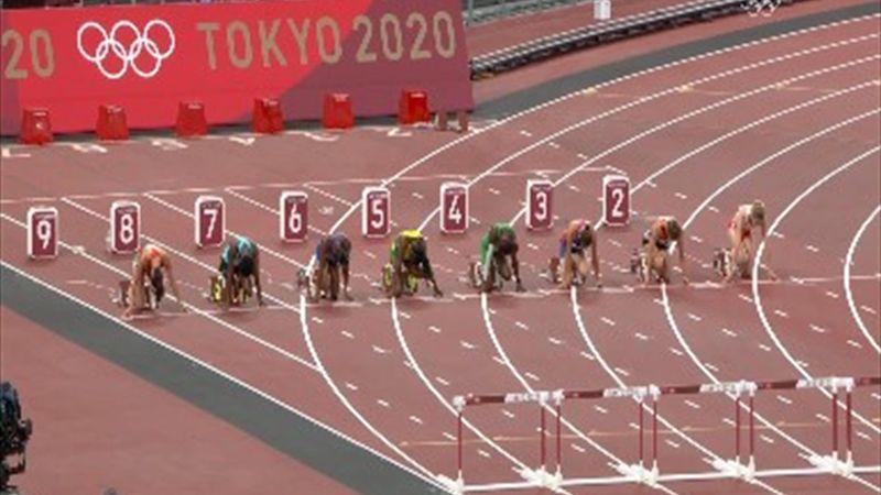 Record olimpic în proba de 100 metri garduri feminin, la Jocurile Olimpice