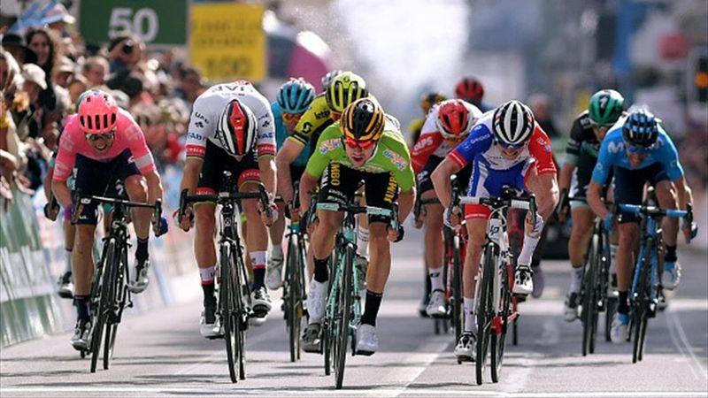 Tour de Romandie: Roglič vant etter kanonspurt