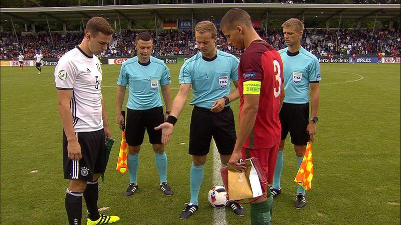 U19 Avrupa Şampiyonası: Almanya - Portekiz: 3-4 (Özet)