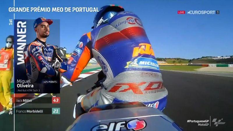 MotoGP Portugal | Dominante overwinning Miguel Olveira op thuiscircuit