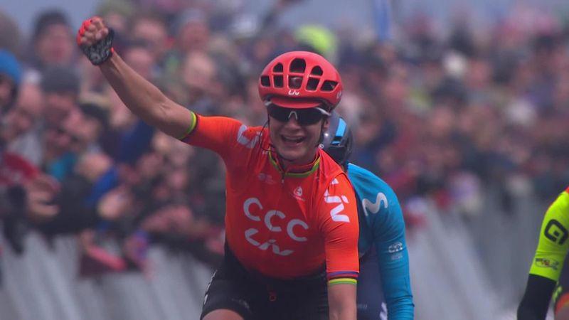 Tour de Yorkshire: Women Stage 2 - Finish