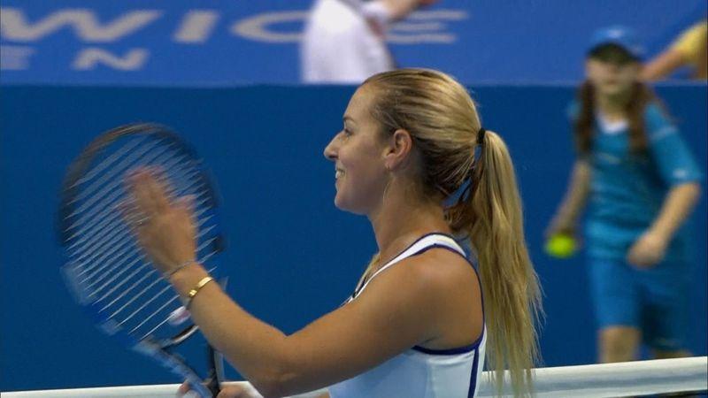 Cibulkova beats Parmentier to reach Katowice final