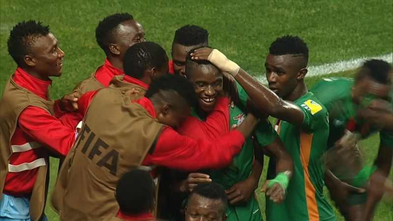 Mondiali U20, impresa Zambia: batte 4-3 la Germania e attende una tra Italia e Francia