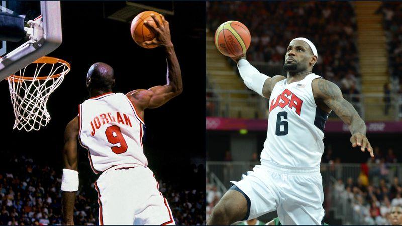 Jordan vs. James - ihre besten Olympischen Momente