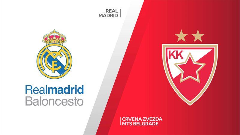 Highlights: Real Madrid-Stella Rossa 77-79