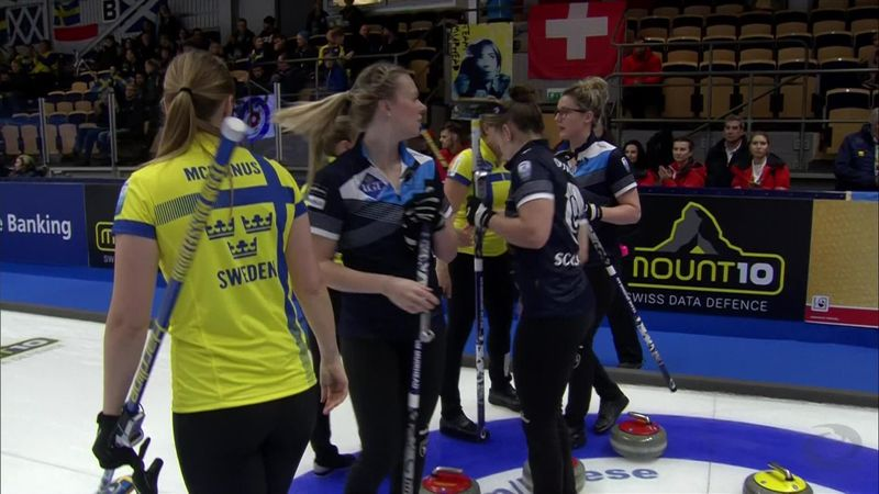 Muirhead's Scotland lose out to Sweden at Euro Champs