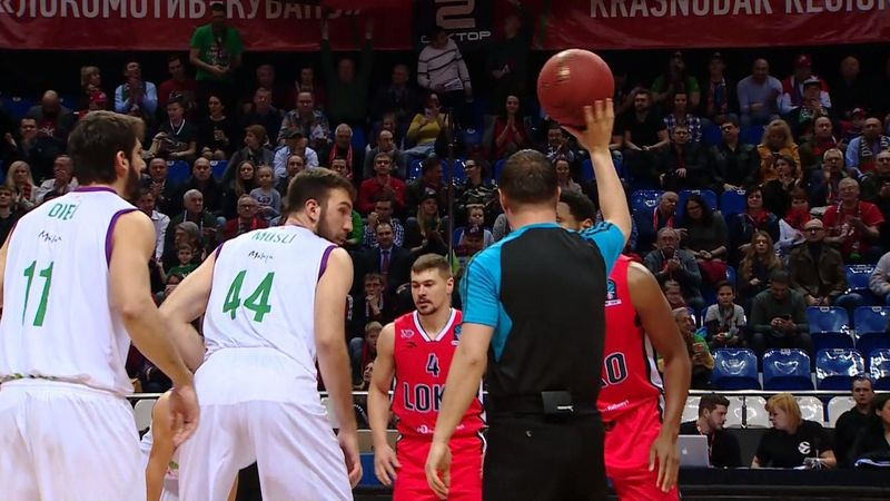 «Уникаха» обидела «Локомотив-Кубань» в первом матче полуфинала, добив соперника данком