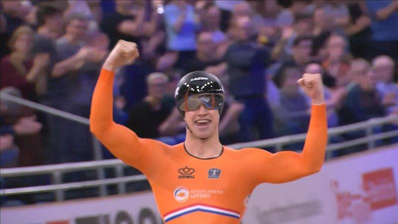 WK Baan | Lavreysen klopt Hoogland in verwachte sprintfinale