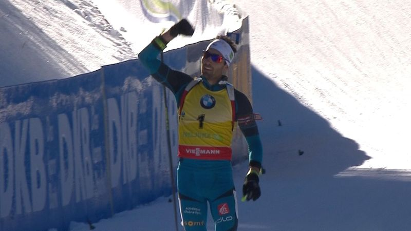 Martin Fourcade vince la pursuit di Pokljuka