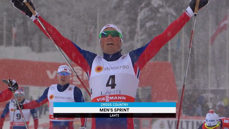 Falla and Iversen win pre-World Championships sprints in Lahti