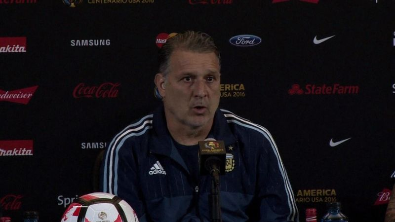 Martino previews Venezuela match, with Messi set to start
