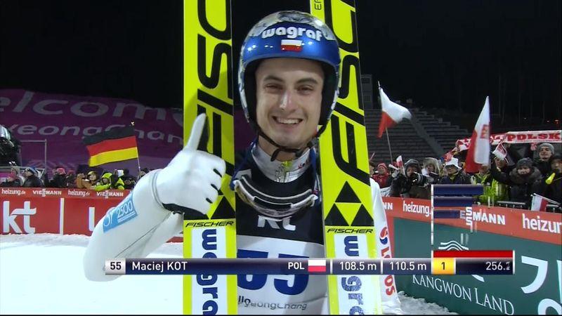 Skispringen Pyeongchang: Kot-Gala auf der Normalschanze