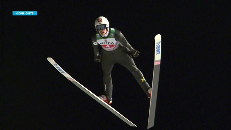 Highlights from 1st jumps at Oberstdorf