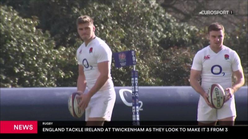 Rugby: England fordert Irland in Twickenham