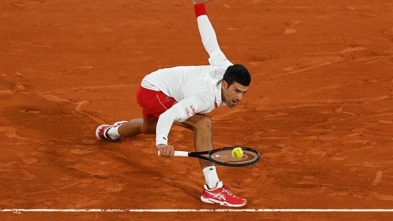Los mejores puntos de Djokovic en su camino a la gran final