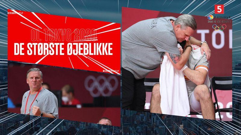 Største øjeblikke: Da Nikolaj Jacobsen trøstede spansk spiller