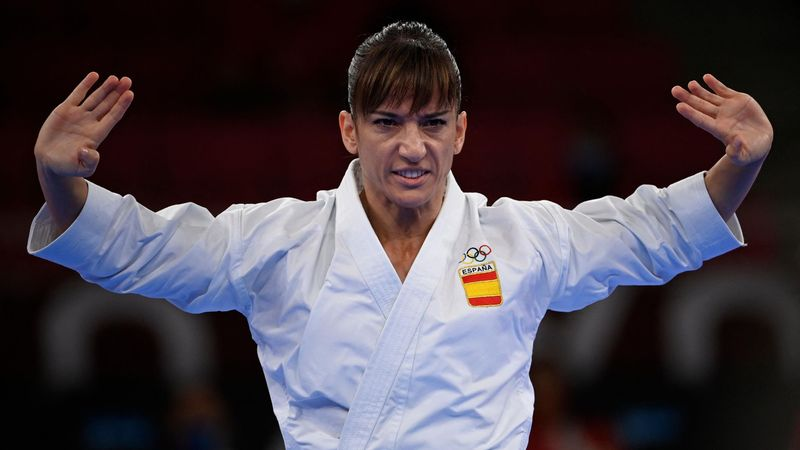 Kárate   Sandra Sánchez, a la ronda clasificatoria con una media de 27,43
