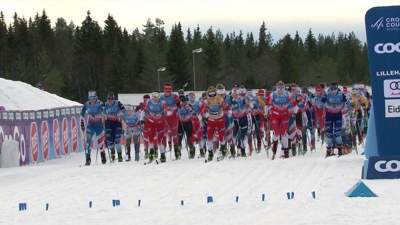Cross country, Copa del Mundo: Johaug brilla con luz propia en Lillehammer.