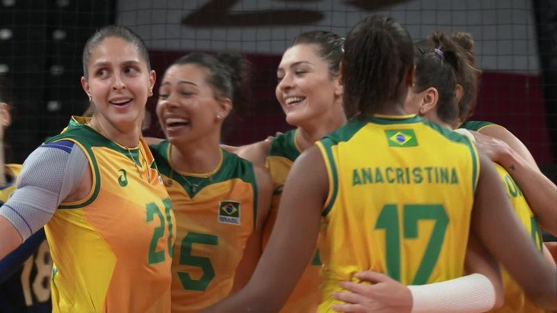 Tokyo 2020 - Brazil  vs Kenya  - Volei – Rezumate de la Olimpiadă