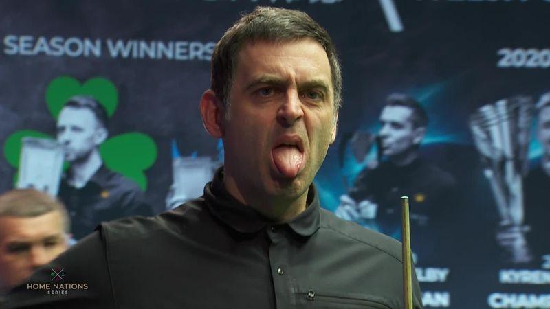 Galler AçıkFinal: Ronnie O'Sullivan'dan ikinci oyunda gelen şans potu