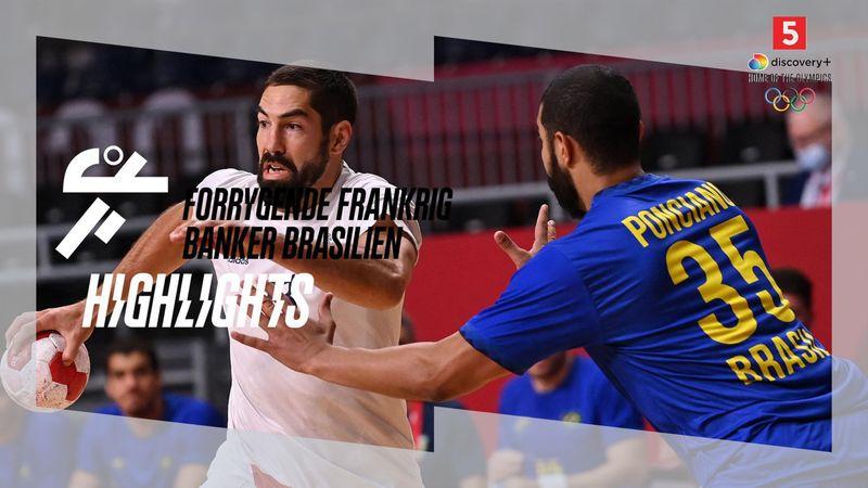 Highlights: Forrygende Frankrig banker Brasilien