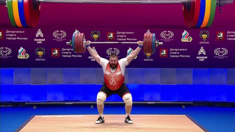 Talakhadze, è oro nei +109 kg con record del mondo