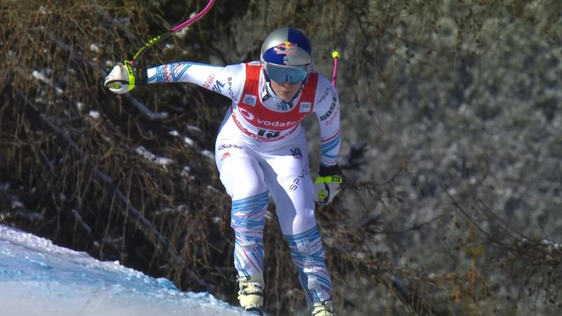 Legend Vonn makes welcome return to the slopes in Cortina d'Ampezzo