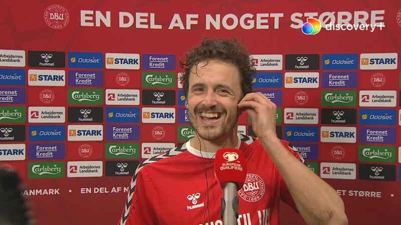 Delaney svarer Gravesen på, hvorfor han ikke sparkede ved målet: Så havde jeg jo ikke scoret!
