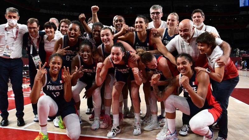 Tokyo 2020 - France mot Serbia - Women's basketball bronze medal match – OL-høydepunkter