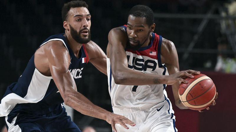 Final-Highlights: US-Basketballer halten Frankreich in Schach