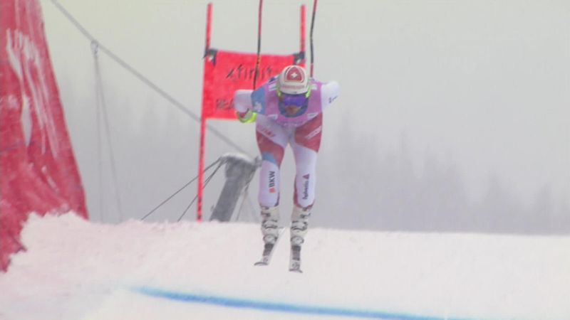 Beat Feuz start weekend goed in Beaver Creek
