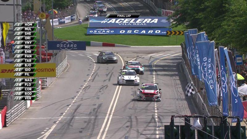 WTCR Portugal: Mato Homola se impone en la segunda carrera en una jornada muy accidentada