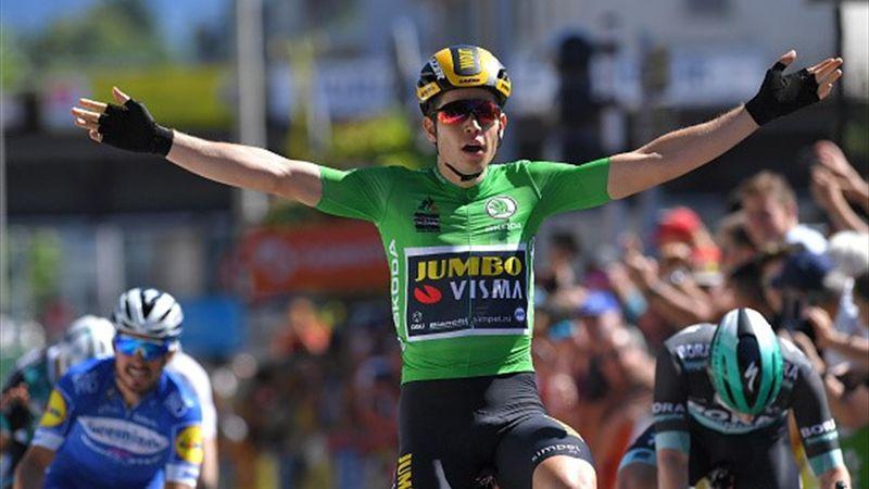 Critérium du Dauphiné: Boasson Hagen yppet seg på den femte etappen