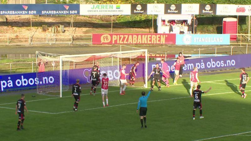 Se høydepunktene: Fredrikstad senket Bryne hjemme