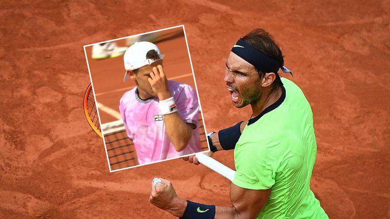 'Amazing' Nadal shot leaves Schwartzman scratching his head