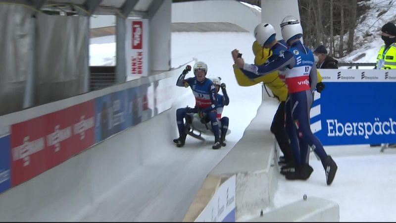 Rieder/Rastner, che vittoria! Zampata a Innsbruck