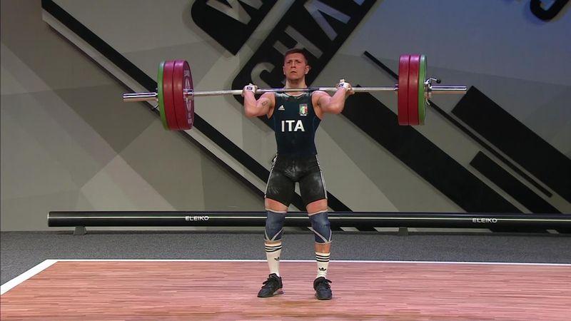 Europeo Halterofilia 2019: El italiano Mirco Scarantino se adjudica un brillante oro en 55 kg