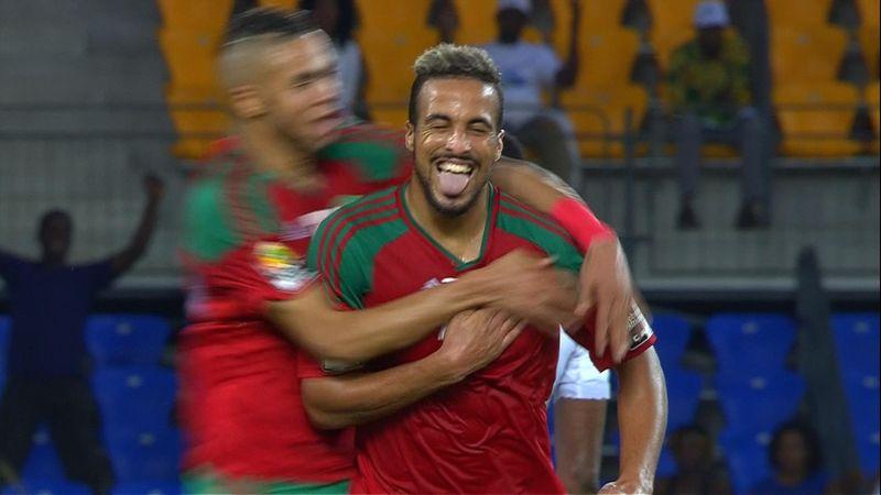 Copa África 2017: El golazo de Marruecos que eliminó a Costa de Marfil