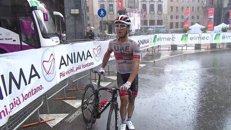 Valerio Conti abbandona il Grande Trittico Lombardo: piove troppo