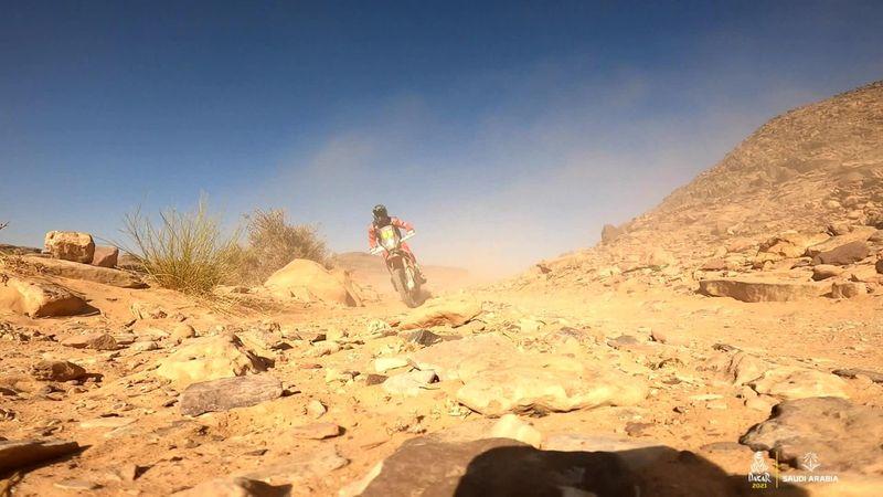 DakarRally highlights, bikes - Cornejo opens up big lead, Benavides wins Stage 9