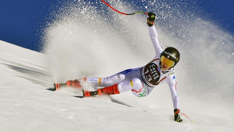 Crans-Montana: Goggia vuelve a demostrar su gran forma tras los Mundiales y se impone en descenso