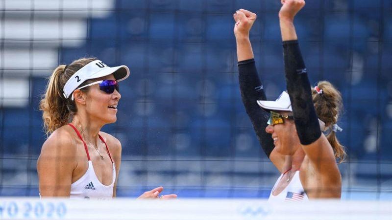 Tokio 2020 - USA (2) - Germany (0) - Beach Volleyball – Olympische hoogtepunten