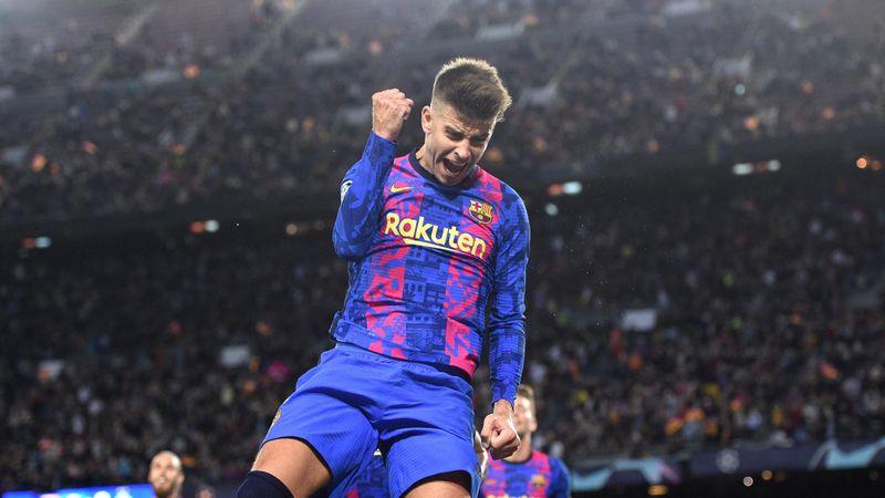 Resumen Barcelona-Dinamo Kiev: Piqué tira del carro (1-0)